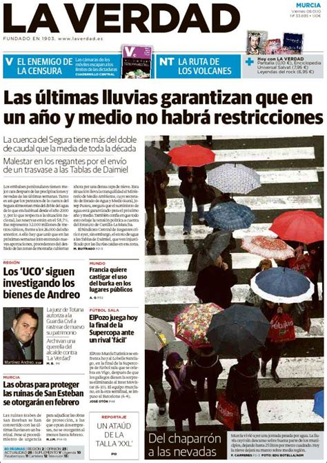Periódico La Verdad de Murcia  España . Periódicos de ...
