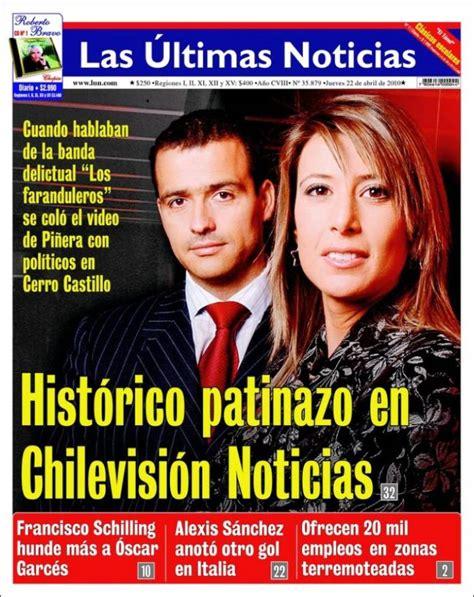 Periódico Las Últimas Noticias  Chile . Periódicos de ...