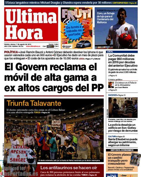 Periodico Última Hora   7/8/2015