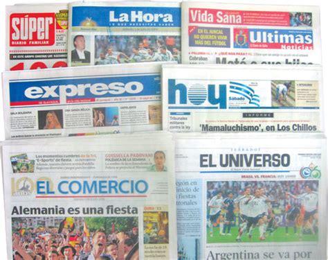 Periódicos de Ecuador | Ecuador Noticias | Noticias de ...