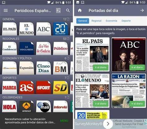 Periódicos Españoles digitales, app Android que los reúne ...