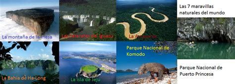 Periodigital Informativo: SIETE MARAVILLAS NATURALES DEL MUNDO