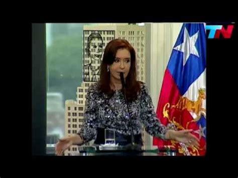 Periodista pregunta a Cristina Fernández de Kirchner por ...