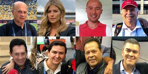PERIODISTAS DEPORTIVOS COLOMBIA   ¿Y de qué equipo son ...