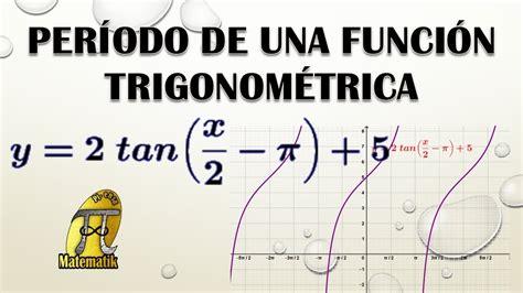 Período de una función trigonométrica   YouTube