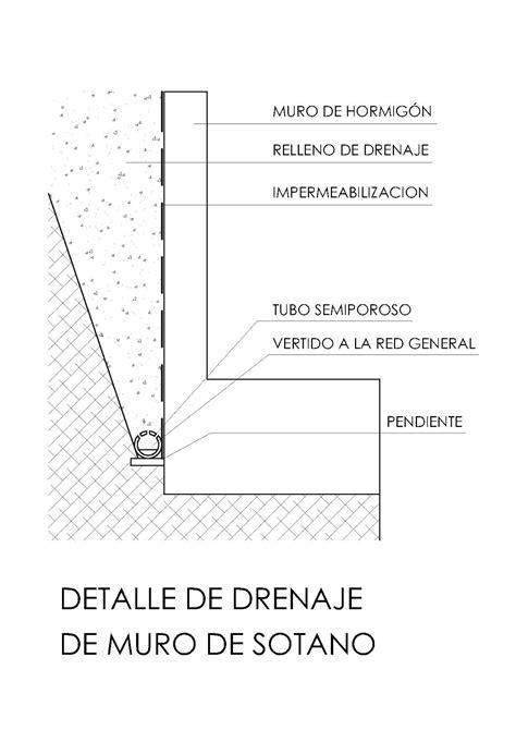 peritararquitectura: Infiltraciones por muros de sótano.