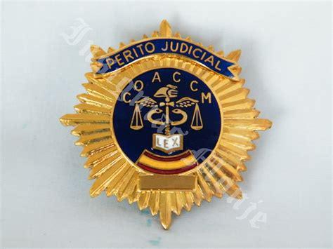 PERITO JUDICIAL   Insignias Monje