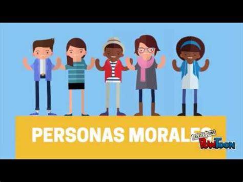 PERSONA FISICA Y MORAL   YouTube
