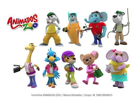 Personagens Turminha Animados Zoo   Marca Richester ...