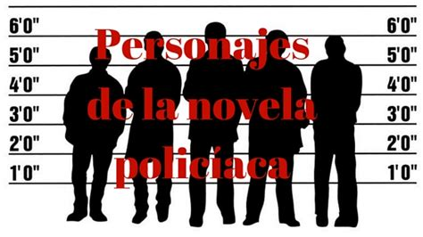 Personajes de la novela policíaca   Ana Bolox