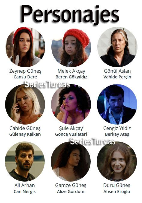 Personajes de la telenovela turca Madre. | Madres latinas ...