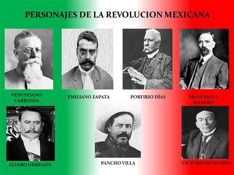 PERSONAJES DESTACADOS EN LA REVOLUCIÓN MEXICANA. – LA ...