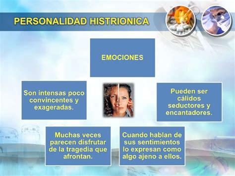 Personalidad histrionica