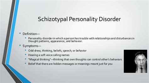 Personality disorders powerpoint