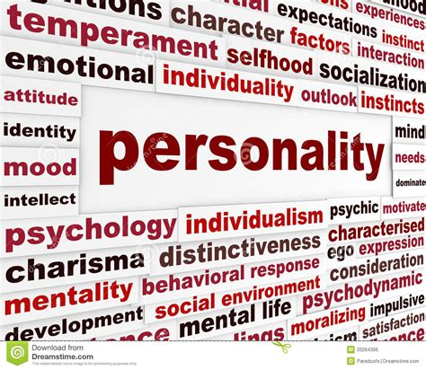 Personality Social Interaction Design Stock Photo   Image ...