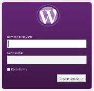 Personalizar inicio de sesión de WordPress | Samuel Aguilera