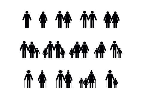 Personas vector diversidad familiar   Descargue Gráficos y ...