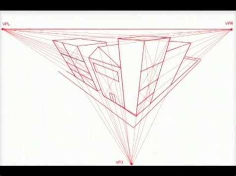 PERSPECTIVA 3 PUNTOS DE FUGA   YouTube