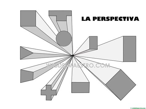Perspectiva cónica | Dibujos paso a paso   Web del maestro