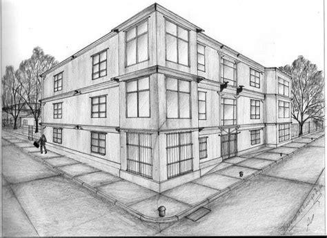 Perspectiva dos puntos de edificio monocromática | L.A.P.I ...