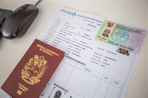 Perú: Venezolanos con PTP ya pueden obtener certificado ...