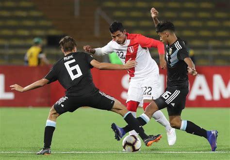 Perú vs. Argentina EN VIVO ver ONLINE y EN DIRECTO vía ...