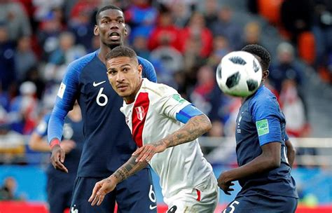 Perú vs Francia: resumen del partido en imágenes