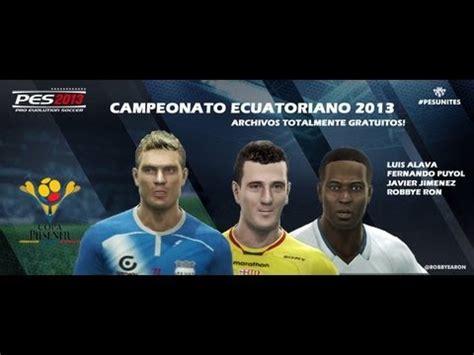 PES 2013 Campeonato ecuatoriano para playstation 3 # ...