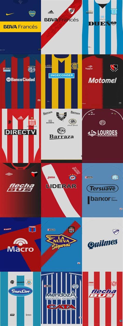 PES 2013 Liga Argentina Primera Division Kit Set by diego ...
