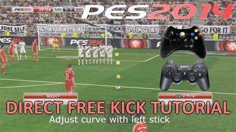 PES 2014   Direct Free Kick Tutorial [New System]   YouTube