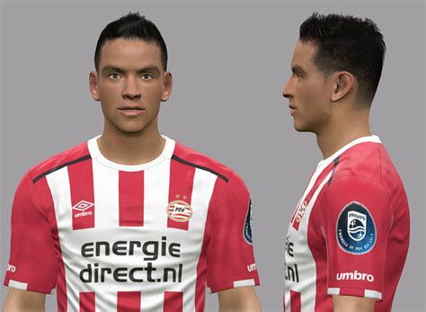 PES 2017 Hirving Lozano Face by Litos Facemaker   PES Patch