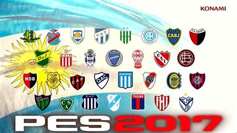 PES 2017   Trailer dos Clubes Argentinos   Liga Argentina ...