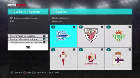Pes 2018   Escudos de Equipos y Ligas   Primera División ...