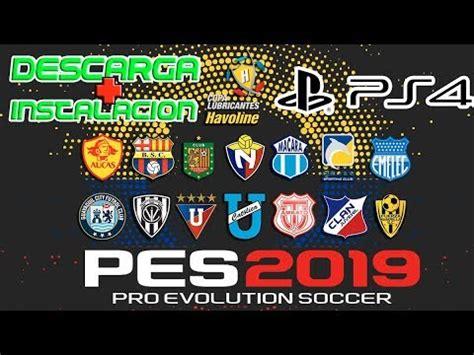 PES 2019 Campeonato Ecuatoriano  Copa Havoline  DESCARGA E ...