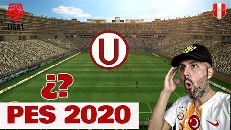 PES 2020 NUEVO ESTADIO ,LIGA 1 PERU , NUEVO PARTNER ...