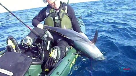 Pesca en Kayak de Atún   Spinning   YouTube