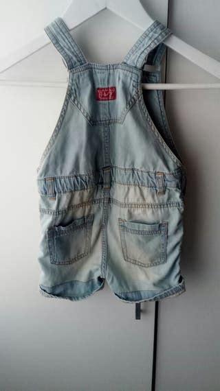 Peto vaquero unisex,marca Zara,talla 18/24 meses de ...