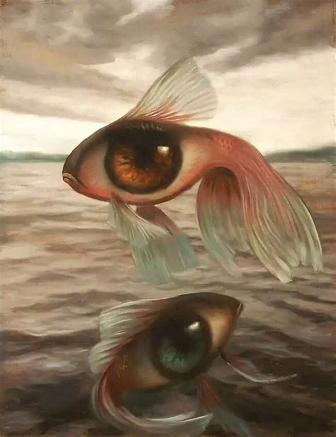 Pez surrealista | Eyes | Arte surrealista, Surrealismo, Arte