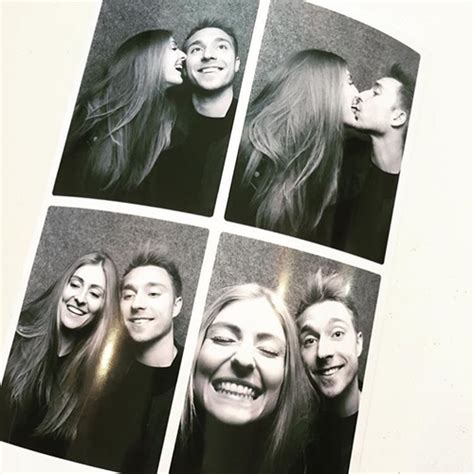 Photo: Christian Eriksen all smiles with his girlfriend ...