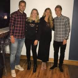 Photo: Eriksen and Kane head out with their girlfriends ...