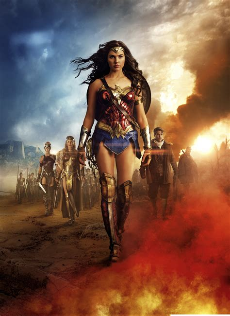 Photo Wonder Woman  2017 film  Gal Gadot Wonder Woman hero ...