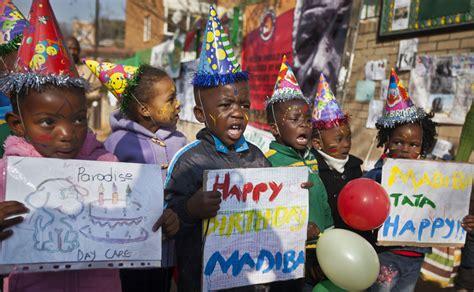 Photos: South Africa celebrates Nelson Mandela s 95th ...