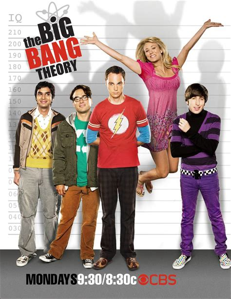 Photos   The Big Bang Theory   Season 2   Cast Pronotional ...