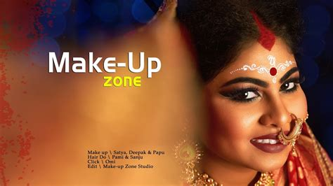 Photoshoot with Jeniffer   Make up Zone   Bengali Bridal ...