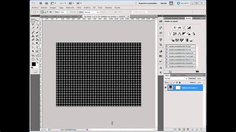 Photoshop CS5   Crear un Motivo Tipo Malla Metalica, en ...