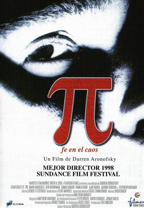 Pi, fe en el caos  1998  de Darren Aronofsky. Max es un ...