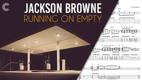Piano   Running on Empty   Jackson Browne   Sheet Music ...