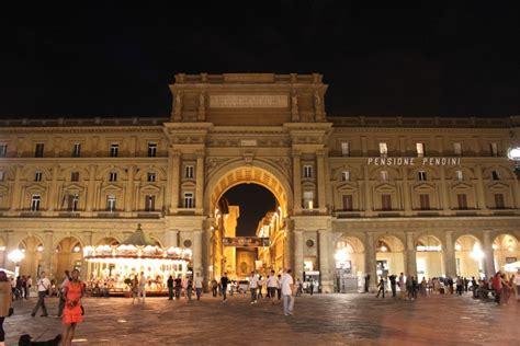 Piazza della Repubblica,Florence:Center of Florence Since ...