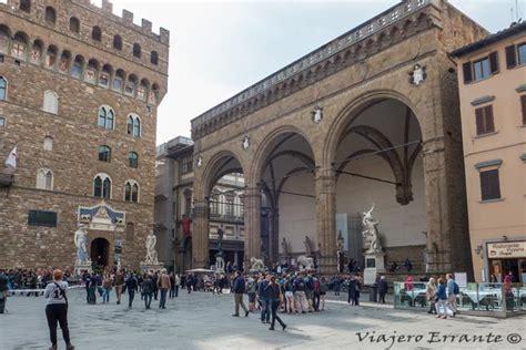 Piazza della Signoria en Florencia. Un museo al aire libre ...