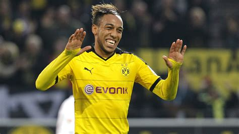 Pierre Emerick Aubameyang Borussia Dortmund Augsburg ...